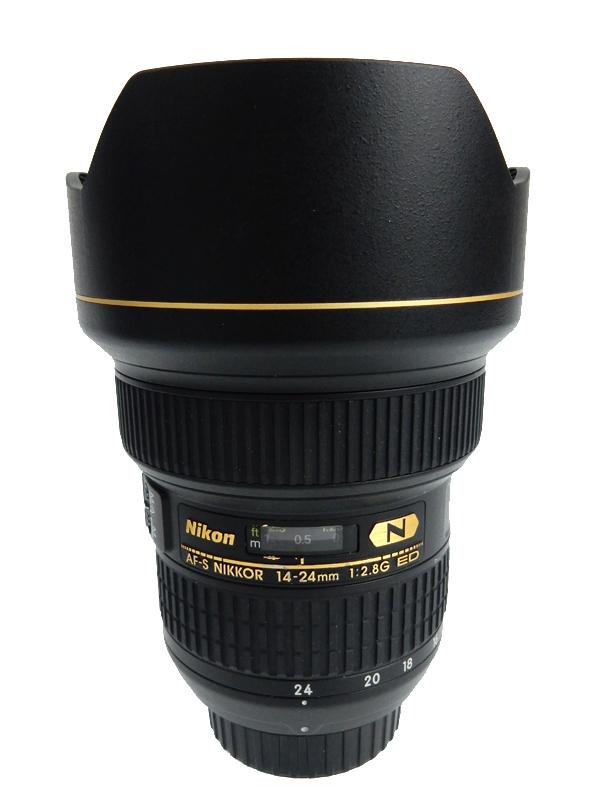 【Nikon】ニコン『AF-S NIKKOR 14-24mm f/2.8G ED』FXフォーマット 広角ズーム デジタル一眼レフカメラ用レンズ 1週間保証【中古】b06e/h16AB