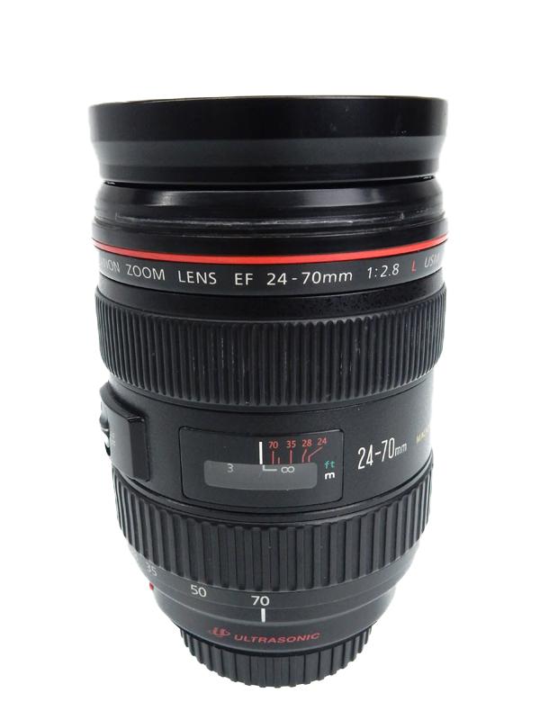 【Canon】キヤノン『EF24-70mm F2.8L USM』EF24-70L 非球面 標準ズーム 一眼レフカメラ用レンズ 1週間保証【中古】b05e/h10B