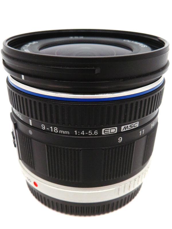 【OLYMPUS】オリンパス『M.ZUIKO DIGITAL ED 9-18mm F4.0-5.6』2010年モデル レンズ 1週間保証【中古】b03e/h20AB