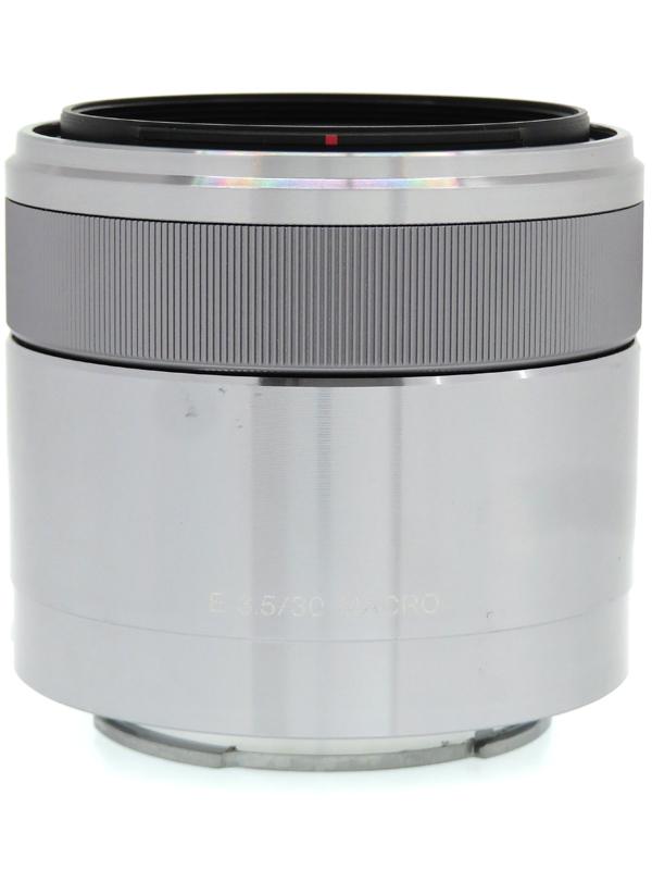 【SONY】ソニー『E 30mm F3.5 Macro』SEL30M35 Eマウント 45mm相当 デジタル一眼カメラ用レンズ 1週間保証【中古】b03e/h11AB