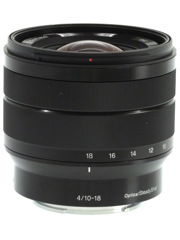 【SONY】ソニー『E 10-18mm F4 OSS』SEL1018 15-27mm相当 Eマウント デジタル一眼レフカメラ用レンズ 1週間保証【中古】b03e/h07AB