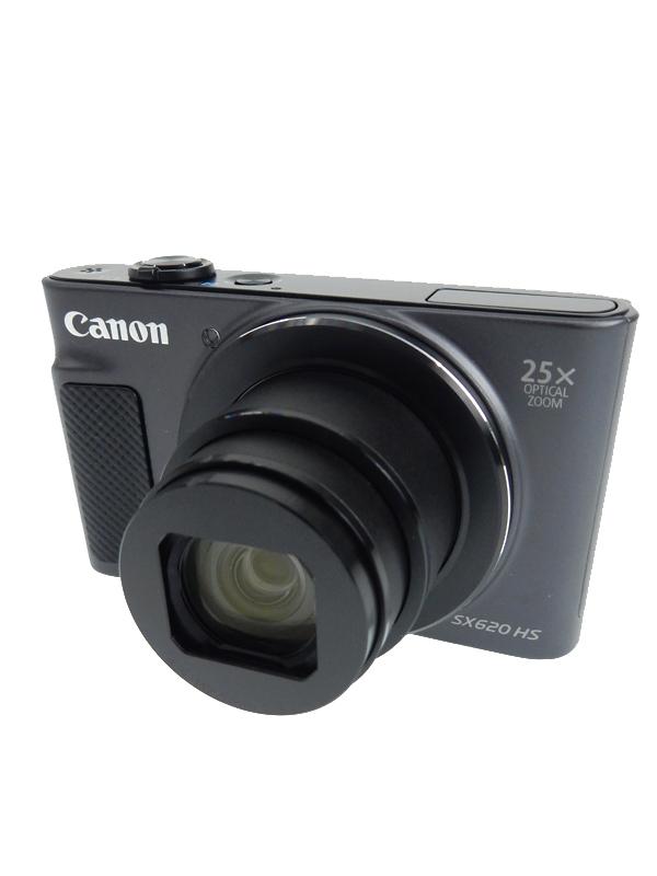 【Canon】キヤノン『PowerShot SX620 HS』PSSX620HS(BK) ブラック 2020万画素 光学25倍 フルHD動画 コンパクトデジタルカメラ 1週間保証【中古】b03e/h08A