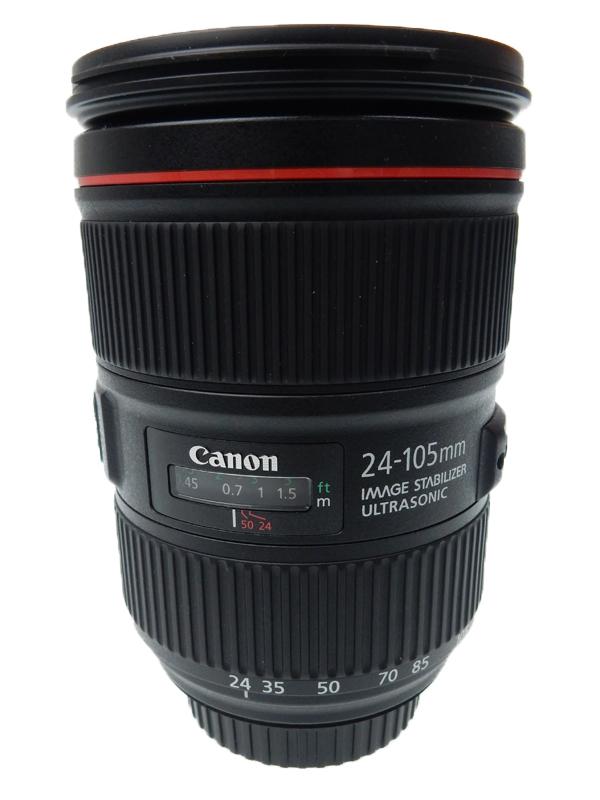 【Canon】キヤノン『EF24-105mm F4L IS II USM』EF24-10540LIS2 非球面 標準ズーム 一眼レフカメラ用レンズ 1週間保証【中古】b06e/h18AB