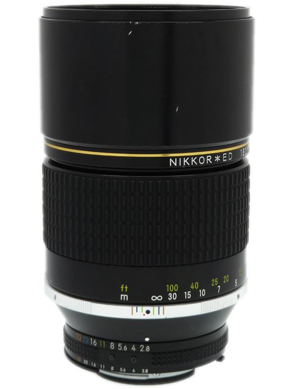 【Nikon】ニコン『AI Nikkor ED 180mm F2.8S』望遠 マニュアルフォーカス 一眼レフカメラ用レンズ 1週間保証【中古】b03e/h11B