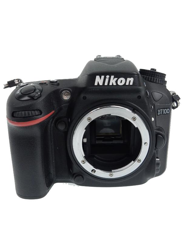 【Nikon】ニコン『D7100ボディ』2410万画素 DXフォーマット ISO6400 フルHD動画 デジタル一眼レフカメラ 1週間保証【中古】b06e/h18AB