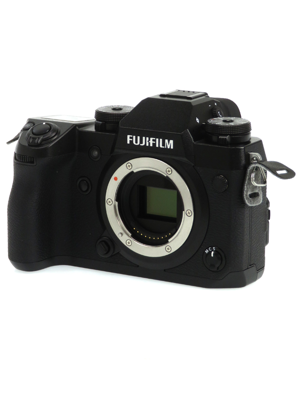 【FUJIFILM】富士フイルム『X-H1』2430万画素 APS-C SDXC 4K動画 ミラーレス一眼カメラ 1週間保証【中古】b05e/h22A