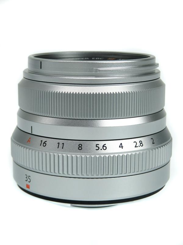 【FUJIFILM】富士フイルム『FUJINON XF35mmF2 R WR シルバー』レンズ 1週間保証【中古】b06e/h18AB