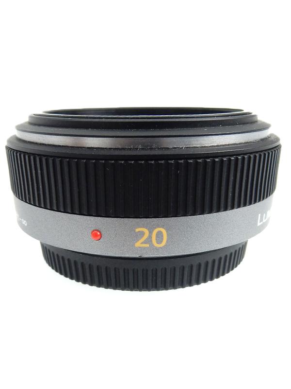 【Panasonic】パナソニック『LUMIX G 20mm/F1.7 ASPH.』H-H020 小型・軽量 マイクロフォーサーズマウント系 レンズ 1週間保証【中古】b03e/h20AB