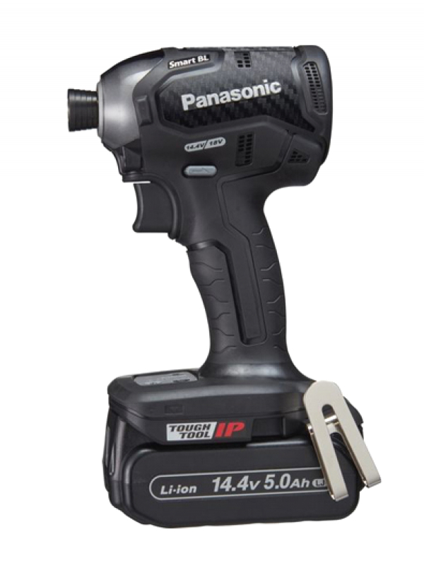 【Panasonic】パナソニック『充電インパクトドライバー』EZ76A1LJ2F-B デュアル対応 14.4V 5.0Ah×2 充電器 ケース付 1週間保証【新品】b00t/b00N