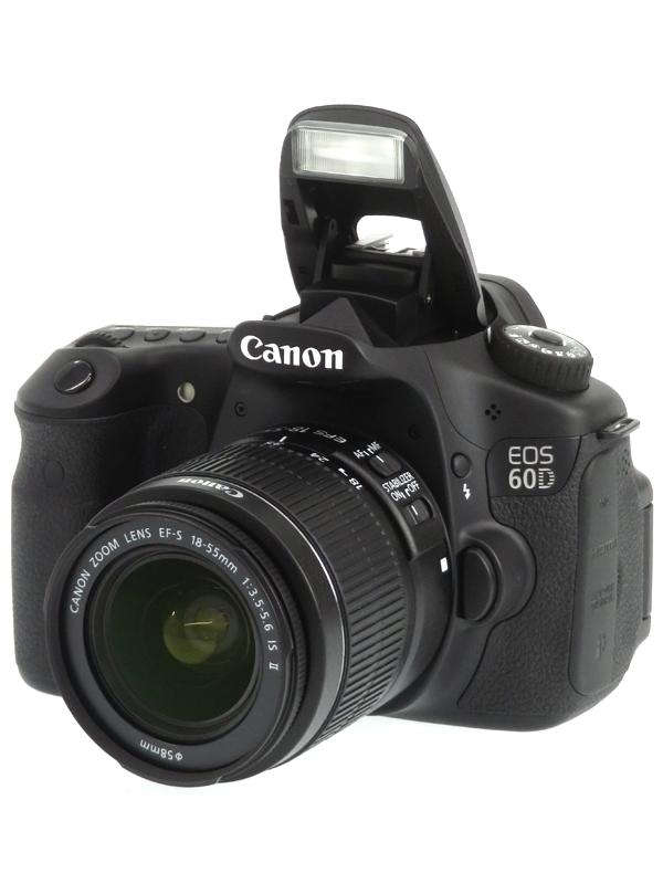 【Canon】キヤノン『EOS 60D EF-S18-55 IS レンズキット』EOS60D1855ISLK 1800万画素 SDXC フルHD動画 デジタル一眼レフカメラ 1週間保証【中古】b03e/h15AB