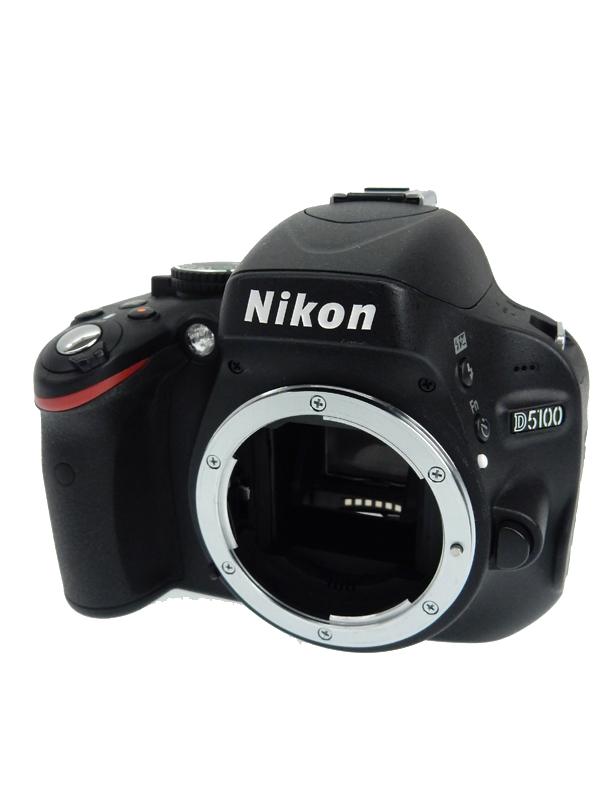 【Nikon】ニコン『D5100ボディ』1620万画素 DXフォーマット SDXC フルHD動画 デジタル一眼レフカメラ 1週間保証【中古】b03e/h15AB