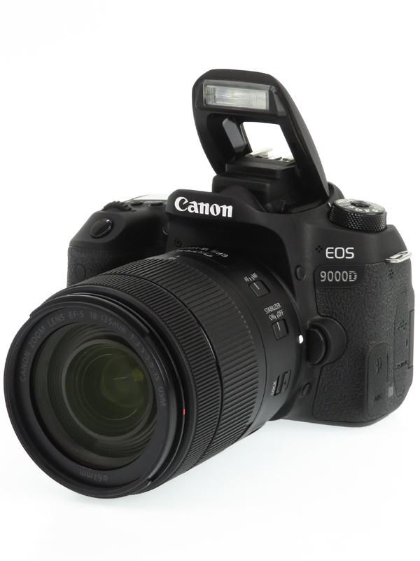 【Canon】キヤノン『EOS 9000D EF-S18-135 IS USMレンズキット』2420万画素 EF-S SDXC フルHD動画 デジタル一眼レフカメラ 1週間保証【中古】b03e/h12AB