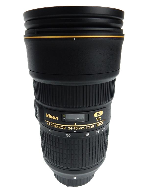 【Nikon】ニコン『AF-S NIKKOR 24-70mm f/2.8E ED VR』FXフォーマット デジタル一眼レフカメラ用レンズ 1週間保証【中古】b03e/h06A