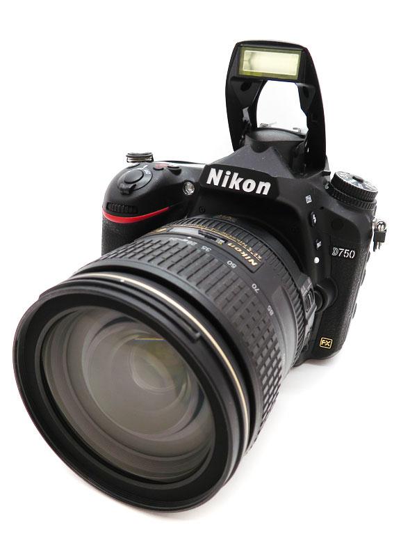 【Nikon】ニコン『D750 24-120 VR レンズキット』デジタル一眼レフカメラ 1週間保証【中古】b03e/h08AB