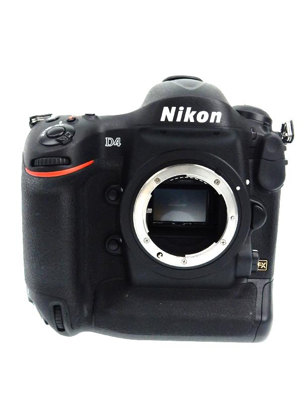 【Nikon】ニコン『D4』ニコンFマウント 1620万画素 3.2インチ デジタル一眼レフカメラ 1週間保証【中古】b03e/h19AB