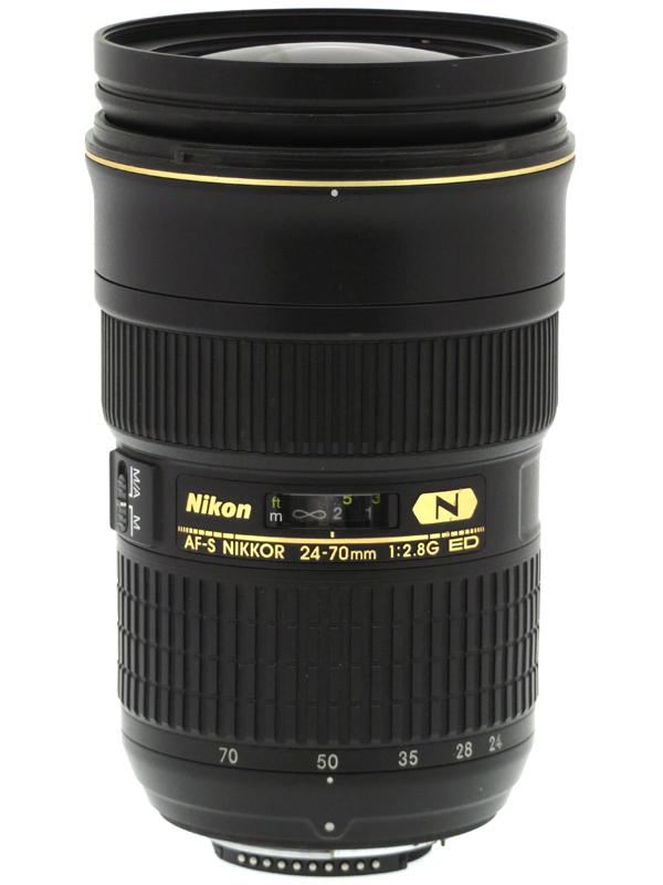 【Nikon】ニコン『AF-S NIKKOR 24-70mm f/2.8G ED』FXフォーマット 標準ズーム デジタル一眼レフカメラ用レンズ 1週間保証【中古】b03e/h08AB