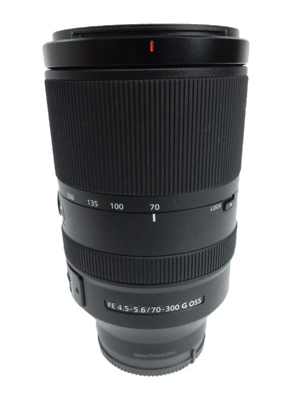 【SONY】ソニー『FE 70-300mm F4.5-5.6 G OSS』SEL70300G Eマウント 高解像望遠ズーム フルサイズ対応 デジタル一眼カメラ用レンズ 1週間保証【中古】b03e/h12AB