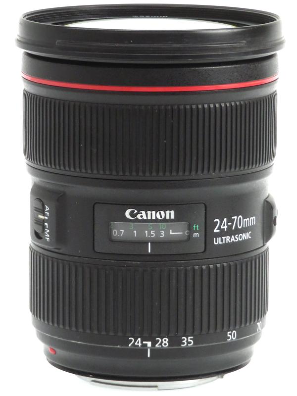 【Canon】【メーカーメンテナンス済】キヤノン『EF24-70mm F2.8L II USM』EF24-70L2 大口径 標準ズーム 一眼レフカメラ用レンズ 1週間保証【中古】b03e/h09B
