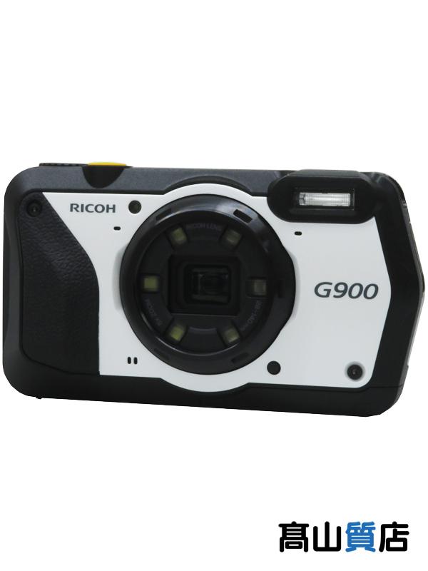 【RICOH】リコー『防水 防塵 業務用デジタルカメラ』G900 広角28mm 防水 耐衝撃 防塵 耐薬品性 現場モデル 1週間保証【新品】b00e/b00N