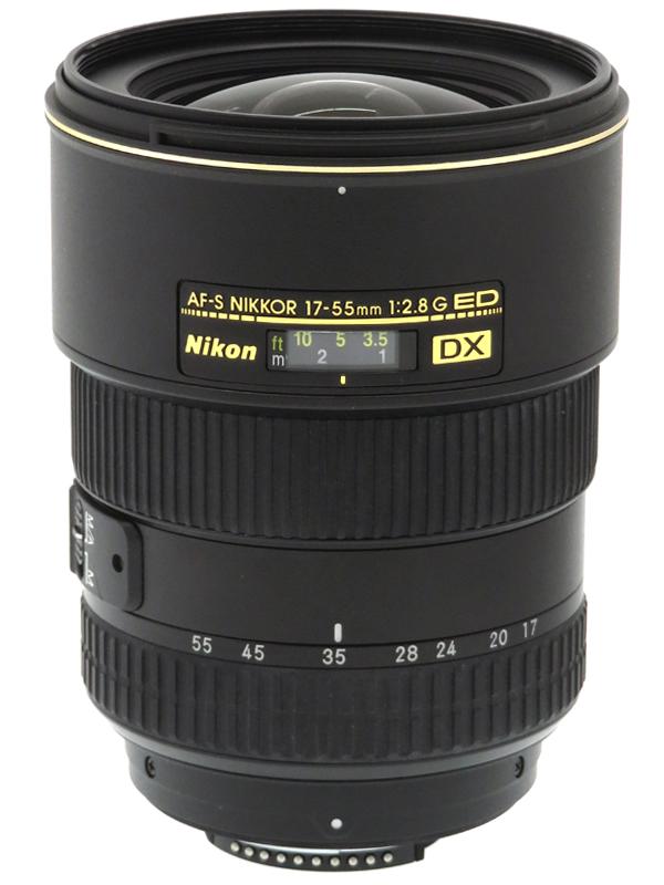 【Nikon】ニコン『AF-S DX Zoom-Nikkor 17-55mm f/2.8G IF-ED』25.5-82.5mm相当 デジタル一眼レフカメラ用レンズ 1週間保証【中古】b03e/h20B