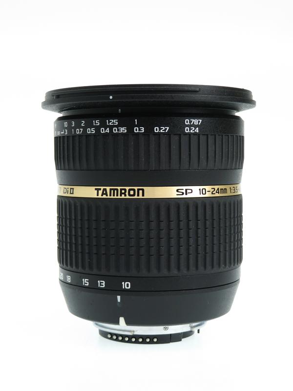 【TAMRON】タムロン『SP AF10-24mm F/3.5-4.5 Di II』B001 ニコンDXフォーマット デジタル一眼レフカメラ用レンズ 1週間保証【中古】b03e/h21AB