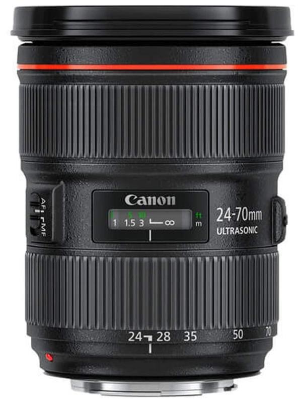 【Canon】キヤノン『EF24-70mm F2.8L II USM』EF24-70L2 大口径 標準ズーム 一眼レフカメラ用レンズ 1週間保証【中古】b03e/h09S