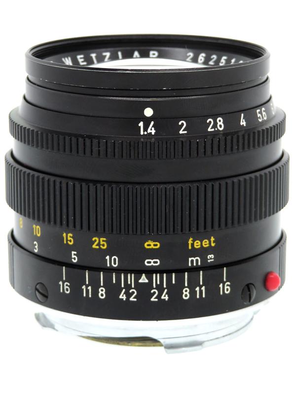【Leica】ライカ『ズミルックス 50mm F1.4 第2世代』後期型 レンジファインダーカメラ用レンズ 1週間保証【中古】b03e/h20B