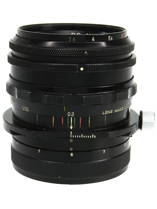 【Nikon】ニコン『PC-Nikkor 35mm F2.8』アオリ撮影 一眼レフカメラ用レンズ 1週間保証【中古】b03e/h20AB