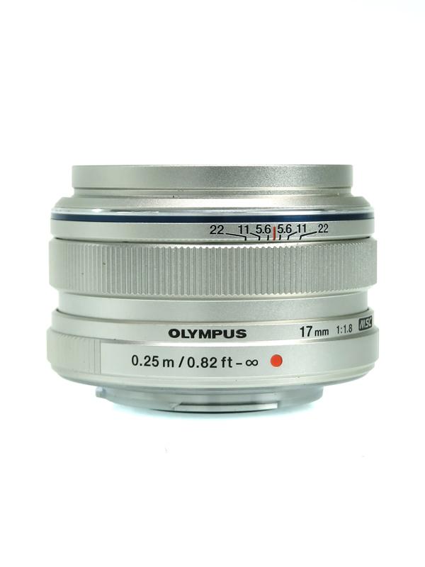 【OLYMPUS】オリンパス『M.ZUIKO DIGITAL 17mm F1.8』2012年 デジタルミラーレスカメラ用レンズ 1週間保証【中古】b03e/h08AB