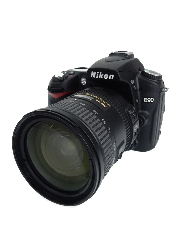 【Nikon】ニコン『D90 AF-S DX 18-200G VR II レンズキット』1230万画素 APS-C デジタル一眼レフカメラ 1週間保証【中古】b03e/h10AB