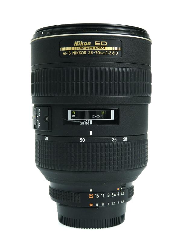 【Nikon】ニコン『Ai AF-S Zoom Nikkor ED 28-70mm F2.8D(IF)』ブラック レンズ 1週間保証【中古】b06e/h18AB
