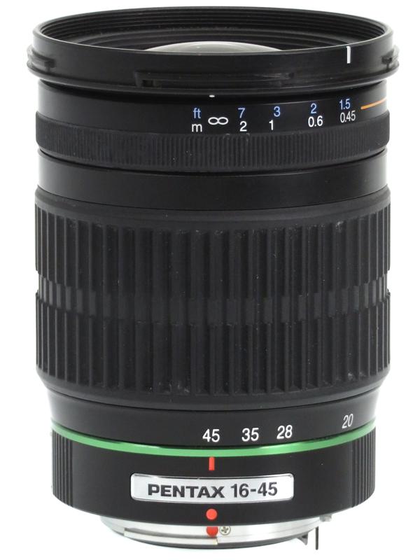 【PENTAX】ペンタックス『smc PENTAX-DA 16-45mmF4ED AL』24.5-69mm相当 デジタル一眼レフカメラ用レンズ 1週間保証【中古】b03e/h11B