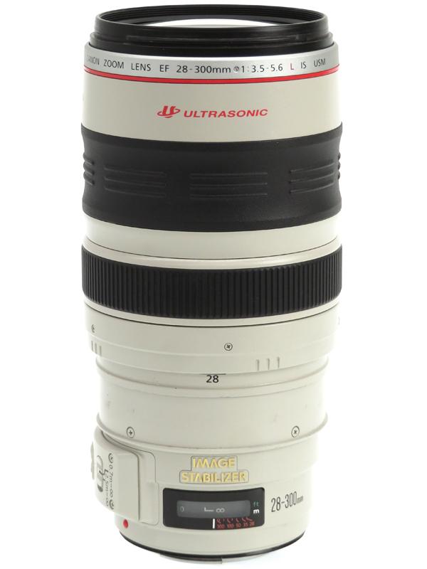 【Canon】キヤノン『EF28-300mm F3.5-5.6L IS USM』EF28-300LIS 望遠ズーム 一眼レフカメラ用レンズ 1週間保証【中古】b03e/h07B