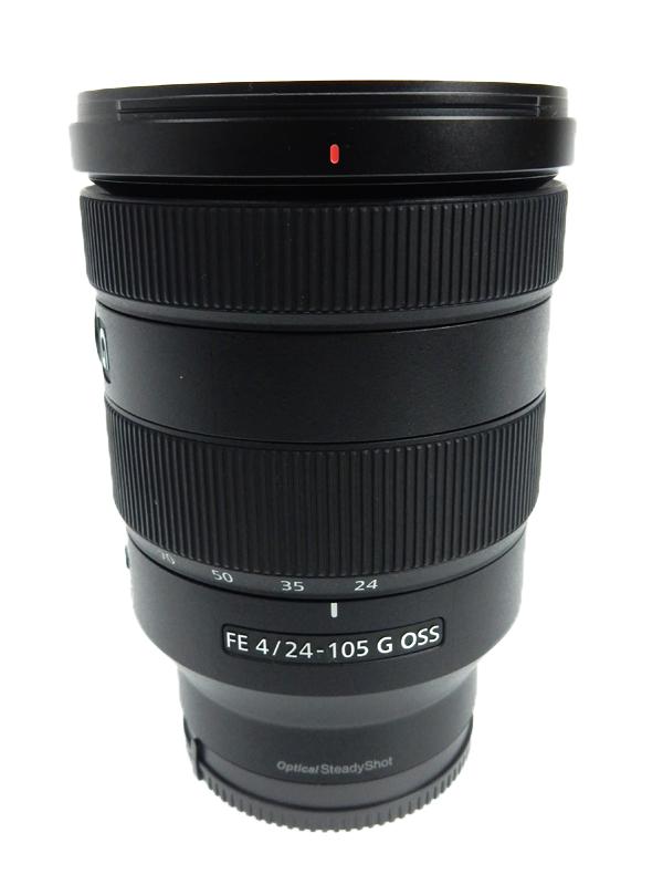 【SONY】ソニー『FE 24-105mm F4 G OSS』SEL24105G ソニーEマウント 小型軽量Gレンズ レンズ 1週間保証【中古】b03e/h20AB