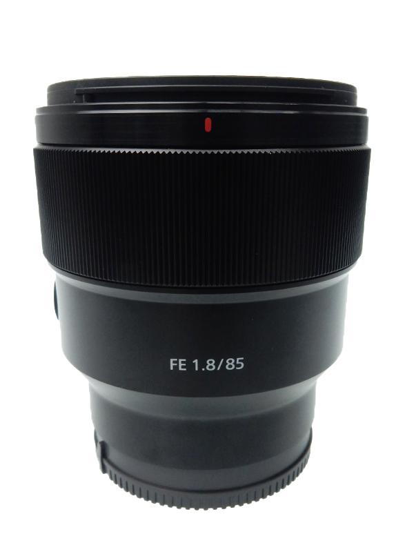 【SONY】ソニー『FE 85mm F1.8』SEL85F18 Eマウント フルサイズ対応 中望遠 デジタル一眼カメラ用レンズ 1週間保証【中古】b03e/h20AB