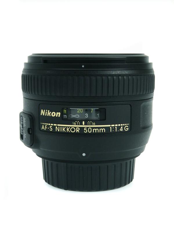 【Nikon】ニコン『AF-S NIKKOR 50mm f/1.4G』FXフォーマット 標準 一眼レフカメラ用レンズ 1週間保証【中古】b03e/h11AB