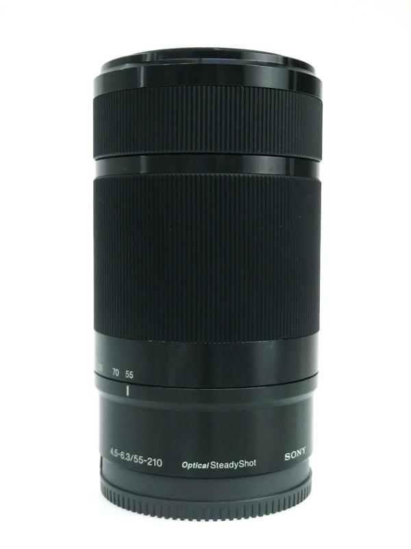 【SONY】ソニー『E55-210mm F4.5-6.3 OSS』SEL55210 2014年式 望遠ズーム Eマウント用 2014年式 レンズ 1週間保証【中古】b03e/h20AB