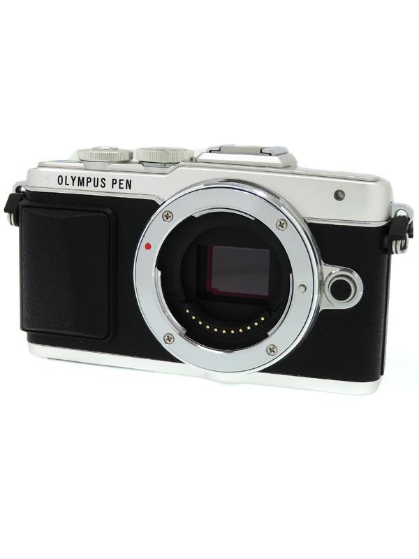 【OLYMPUS】オリンパス『OLYMPUS PEN Lite E-PL7 ボディー』シルバー 1605万画素 SDXC フルHD動画 ミラーレス一眼カメラ 1週間保証【中古】b03e/h03AB