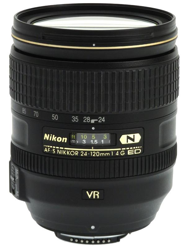 【Nikon】ニコン『AF-S NIKKOR 24-120mm f/4G ED VR』FXフォーマット 標準ズーム 一眼レフカメラ用レンズ 1週間保証【中古】b03e/h03AB
