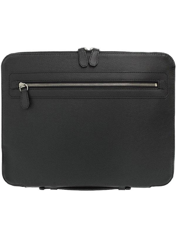 【LOUIS VUITTON】【書類鞄】ルイヴィトン『タイガ ウラジミール』M32612 メンズ ビジネスバッグ 1週間保証【中古】b05b/h10A