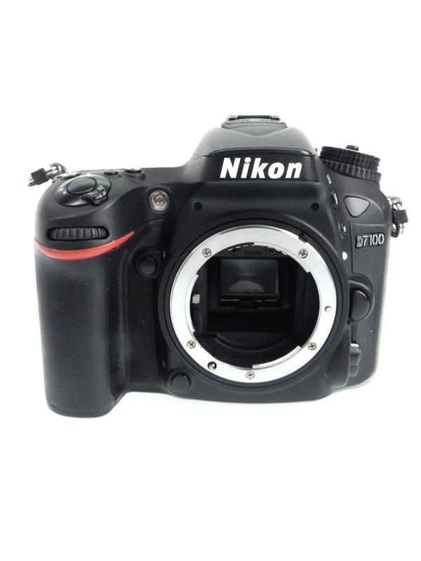 【Nikon】ニコン『D7100ボディ』2410万画素 DXフォーマット ISO6400 フルHD動画 デジタル一眼レフカメラ 1週間保証【中古】b03e/h02B