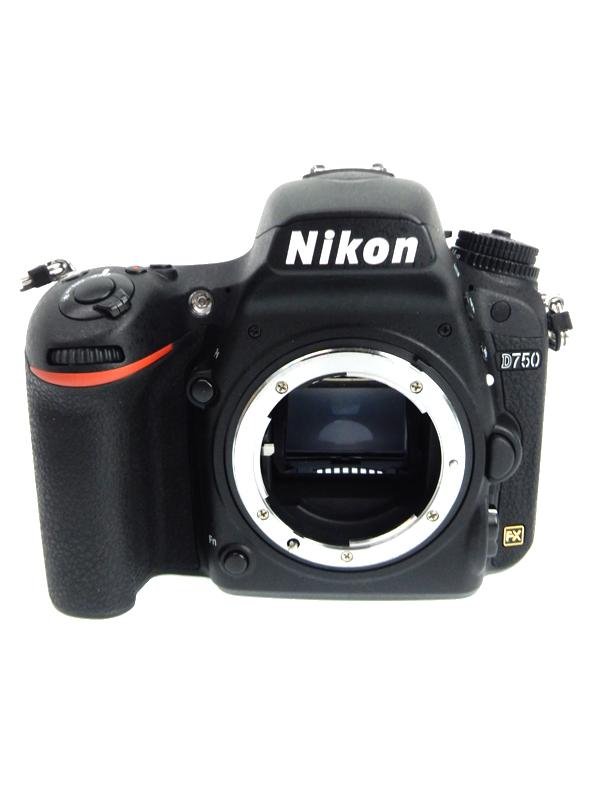 【Nikon】ニコン『D750ボディ』2014年 2432万画素 FXフォーマット ISO12800 SDXC フルHD動画 デジタル一眼レフカメラ 1週間保証【中古】b03e/h03AB