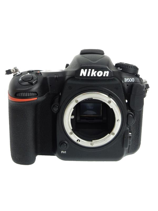 【Nikon】ニコン『D500 ボディ』2088万画素 DXフォーマット ISO51200 Wi-Fi XQD/SDXC 4K動画 デジタル一眼レフカメラ 1週間保証【中古】b06e/h16AB