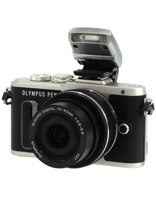 【OLYMPUS】オリンパス『OLYMPUS PEN E-PL8 14-42mm EZ レンズキット』ブラック 1605万画素 SDXC フルHD動画 ミラーレス一眼カメラ 1週間保証【中古】b03e/h02AB