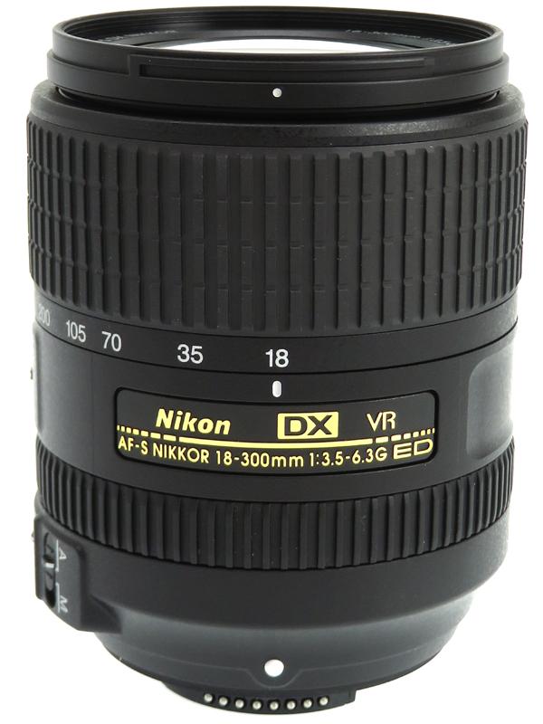 【Nikon】ニコン『AF-S DX NIKKOR 18-300mm f/3.5-6.3G ED VR』27-450mm相当 デジタル一眼レフカメラ用レンズ 1週間保証【中古】b06e/h09SA