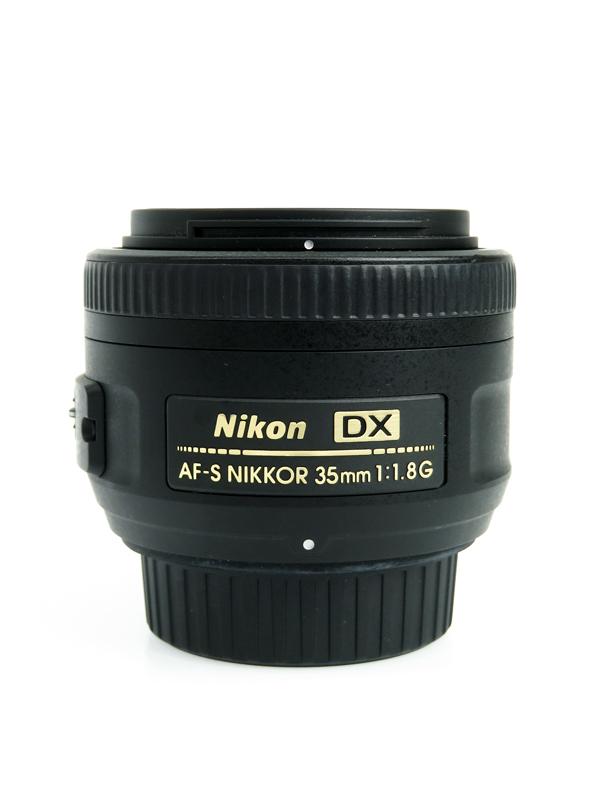【Nikon】ニコン『AF-S DX NIKKOR 35mm f/1.8G』52.5mm相当 デジタル一眼レフカメラ用レンズ 1週間保証【中古】b03e/h20AB