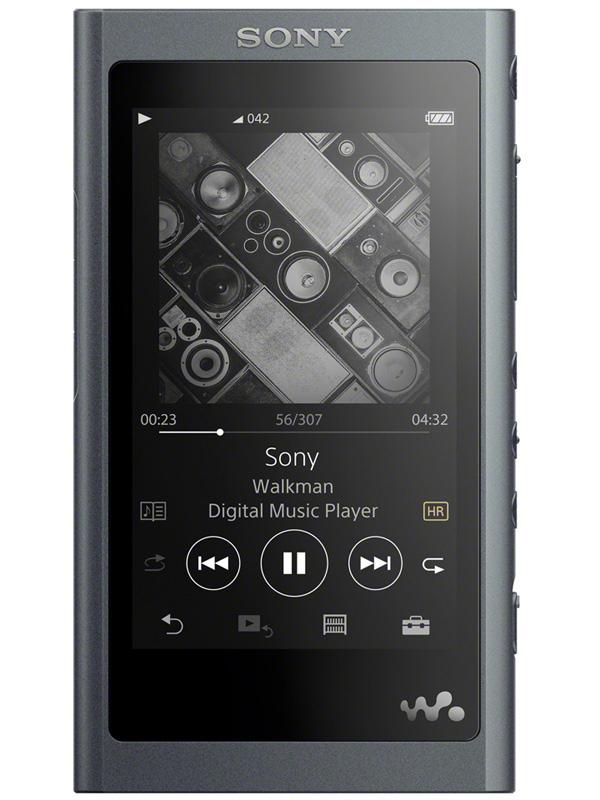 【SONY】ソニー『ウォークマンAシリーズ ウォークマン グレイッシュブラック 16GB』NW-A55WI ポータブルオーディオ 1週間保証【新品】b00e/b00N