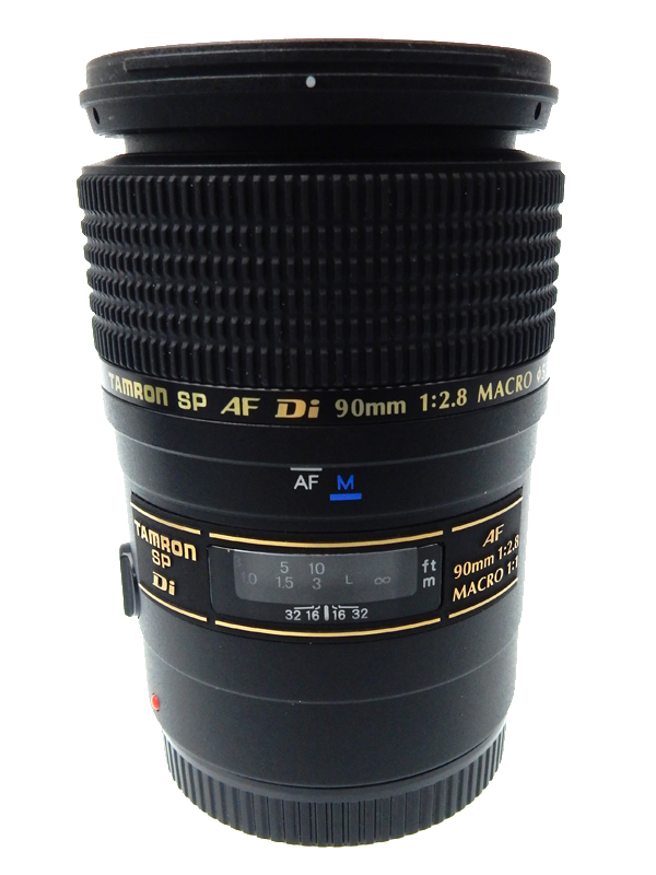 【TAMRON】【キヤノン用】タムロン『SP AF90mmF/2.8 Di MACRO1:1』272E 一眼レフカメラ用レンズ 1週間保証【中古】b03e/h15AB