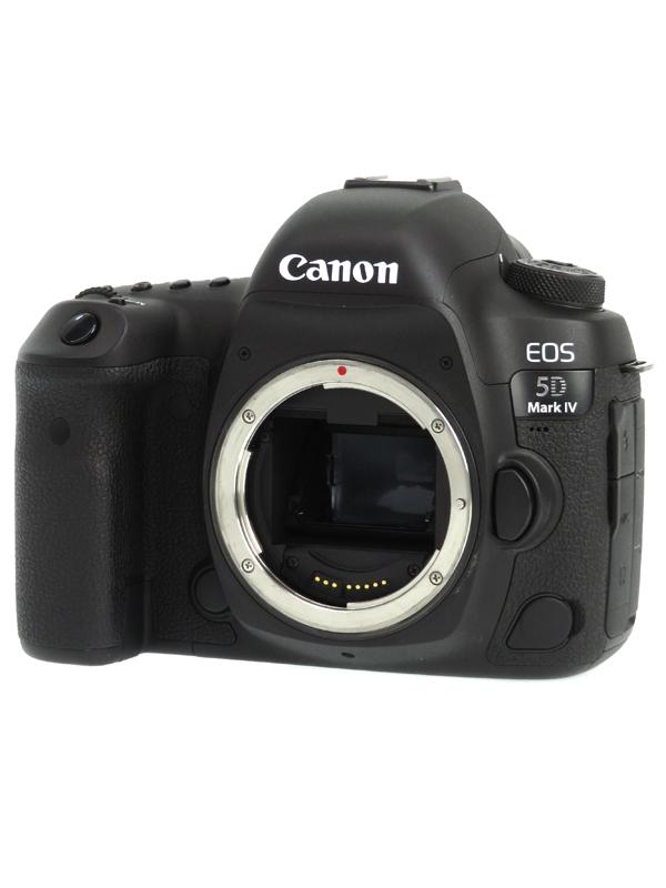 【Canon】キヤノン『EOS 5D Mark IV ボディー』3040万画素 フルサイズ 4K動画 CF/SDXC デジタル一眼レフカメラ 1週間保証【中古】b05e/h21AB