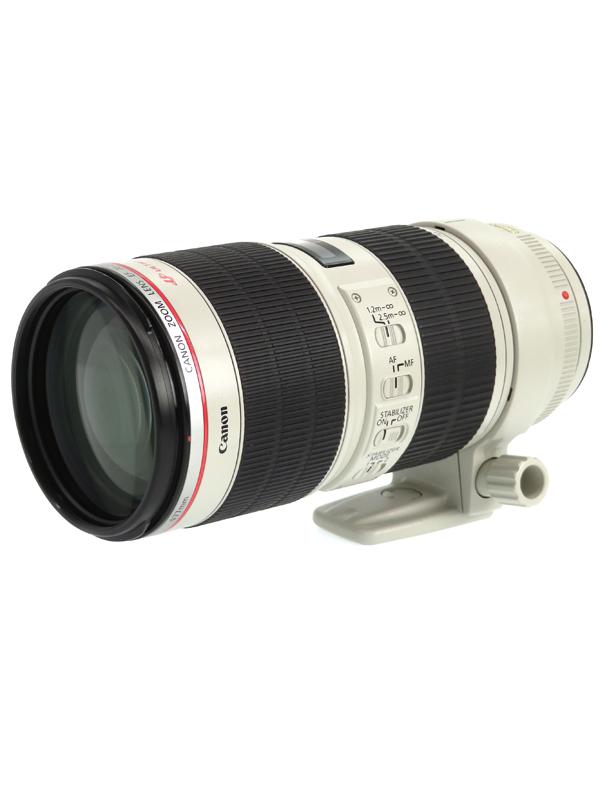 【Canon】キヤノン『EF70-200mm F2.8L IS II USM』EF70-200LIS2 望遠ズーム 手ブレ補正 一眼レフカメラ用レンズ 1週間保証【中古】b05e/h21AB